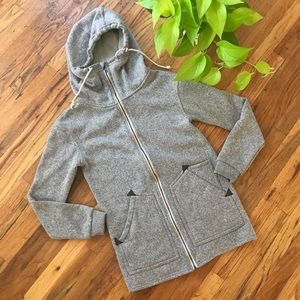 Burton Minxy Zip Up Hooded Sweatshirt
